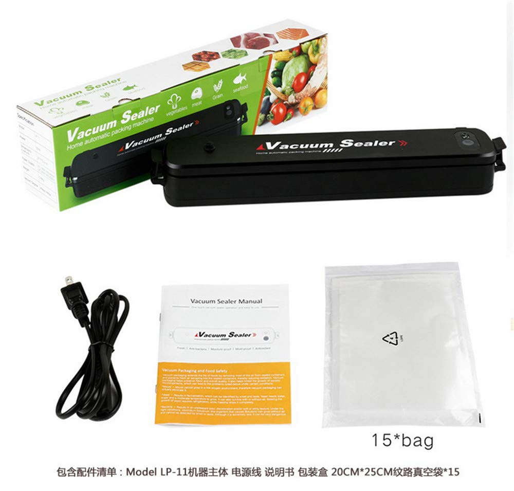 Küche Portabilität Folienschweißgerät Vakumiergerät Lebensmittel Vakuumierer 90W