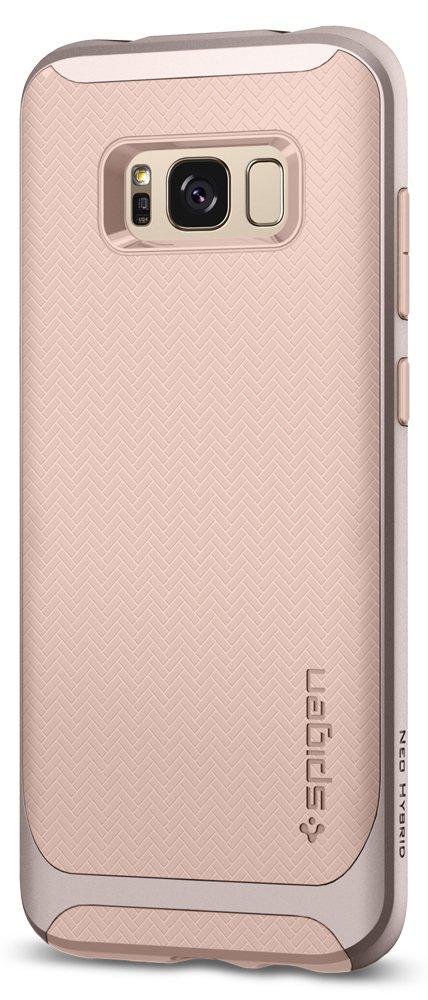 Spigen Neo Hybrid Designed for Samsung Galaxy S8 Case (2017) - Pale Dogwood