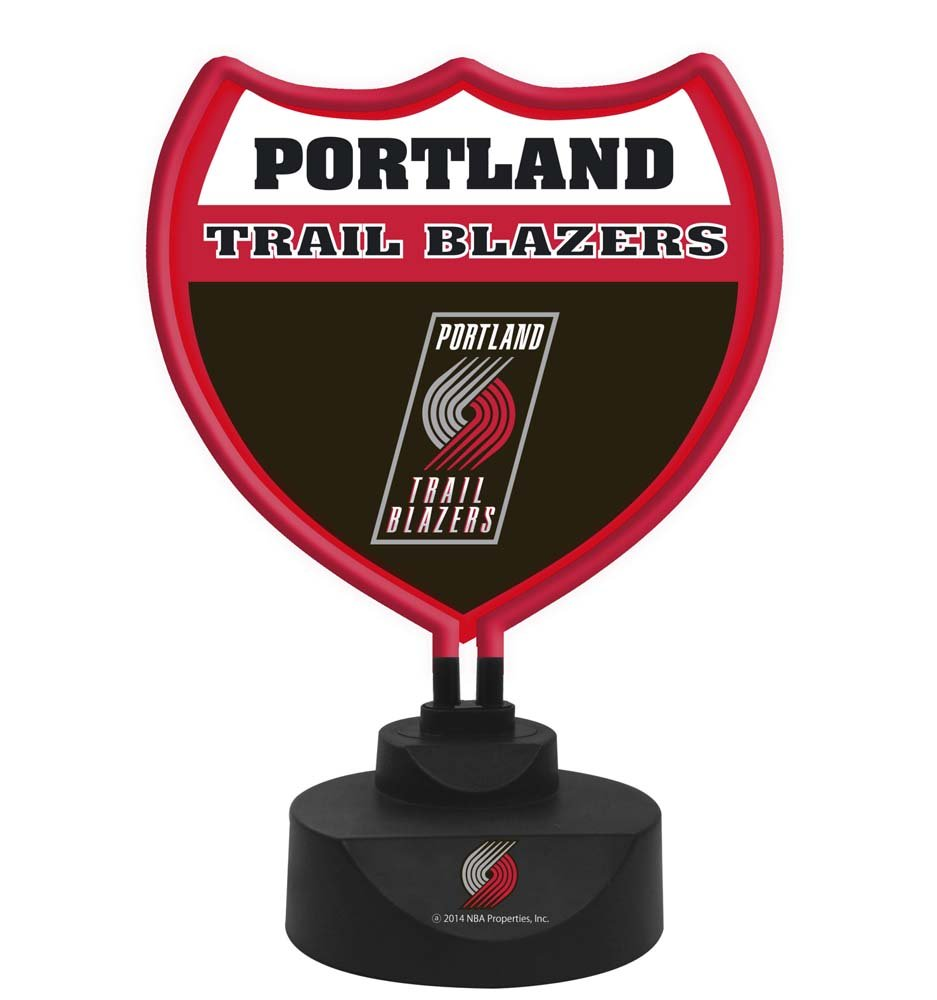 NBA Portland Trail Blazers Neon Lamp, One Size, Multicolor