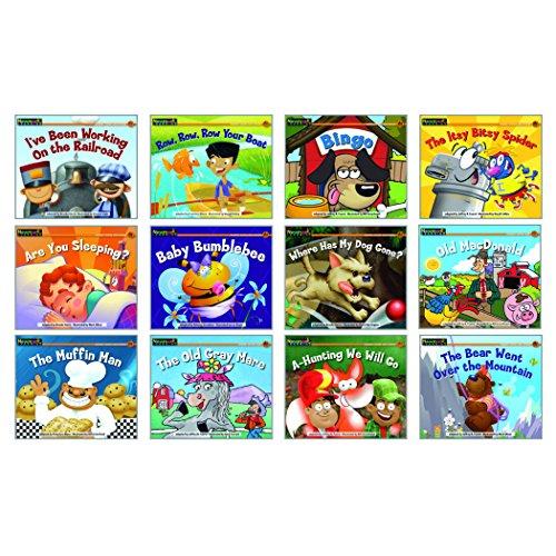 Newmark Learning Nursery Rhyme Songs & Stories Rising Readers Leveled Book