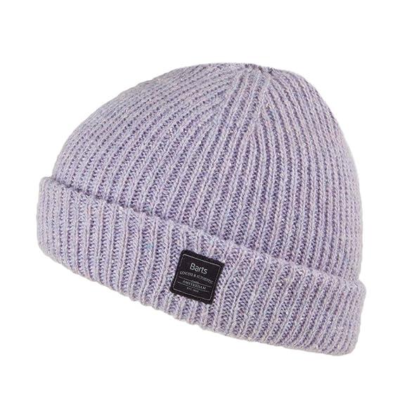 53181301f49 Barts Hats Atlas Beanie Hat - Lilac 1-Size  Amazon.co.uk  Clothing