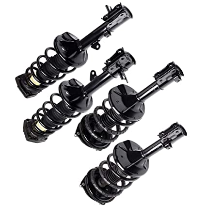 Set of 4 Front /& Rear Quick Complete Struts /& Coil Spring Assemblies Compatible with 2005-2010 Kia Sportage