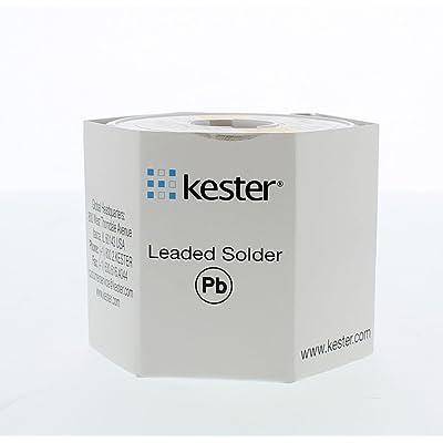 KESTER SOLDER 24-6337-0027 Solder Wire, 63/37 SN/PB, 183°C, 1LB - Electronic Components - .com