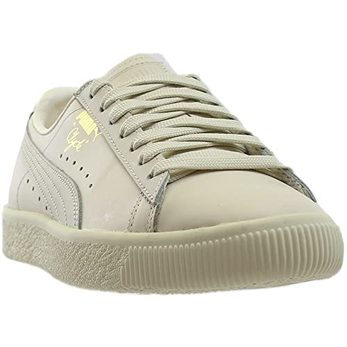 e125deba1aa0 Puma Clyde Natural Star Men s White 363617-02 (7.5 D(M) US)  Amazon.co.uk   Shoes   Bags