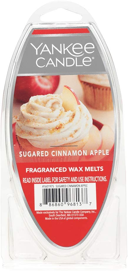 Yankee Candle Sugared Cinnamon Apple Fragranced Wax Melts