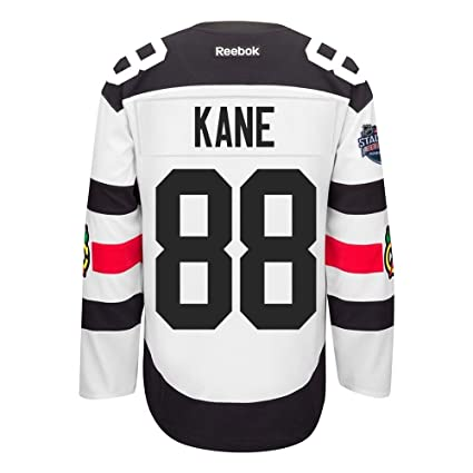 designer fashion 5f873 bf87a Reebok Patrick Kane Chicago Blackhawks NHL Men's White #88 Stadium Series  Official Premier Jersey