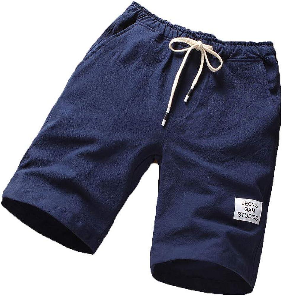 French Army Jogging Shorts Blue Striped Medium 80cm