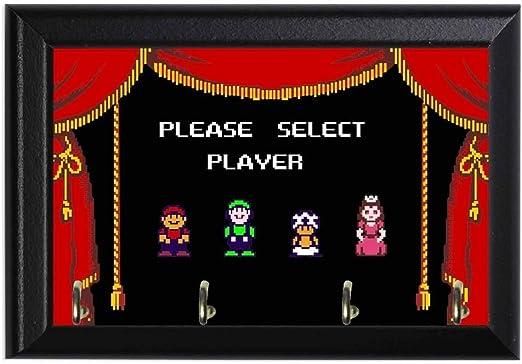 Amazon Com Super Mario Bros 2 Character Select Screen Geeky Wall