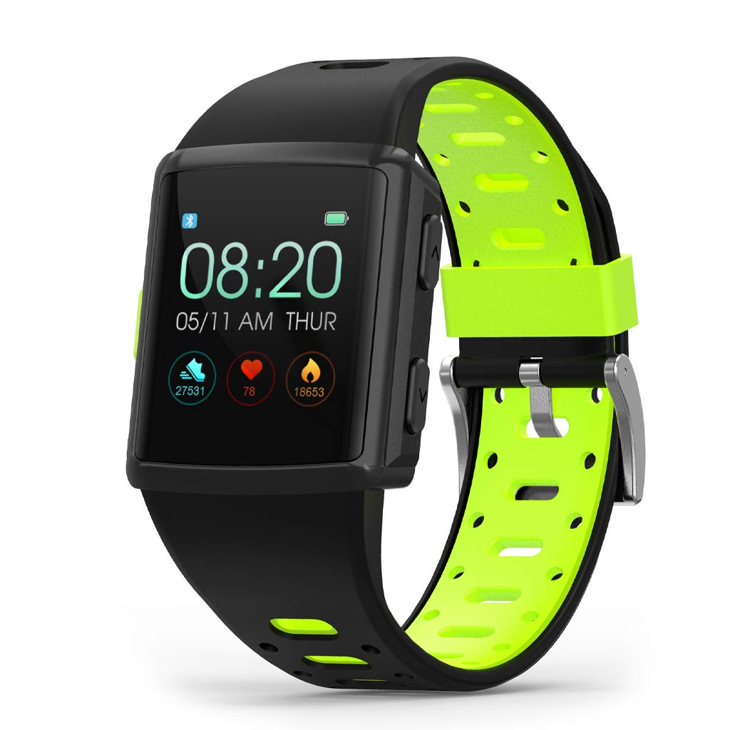 Amazon.com: WLPT Heart Rate Monitor Smartwatch, M3 ...