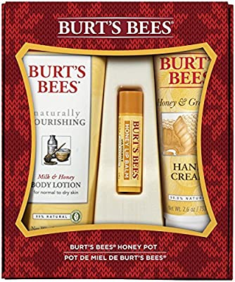Burt's Bees Honey Pot Assortment Holiday Gift Set