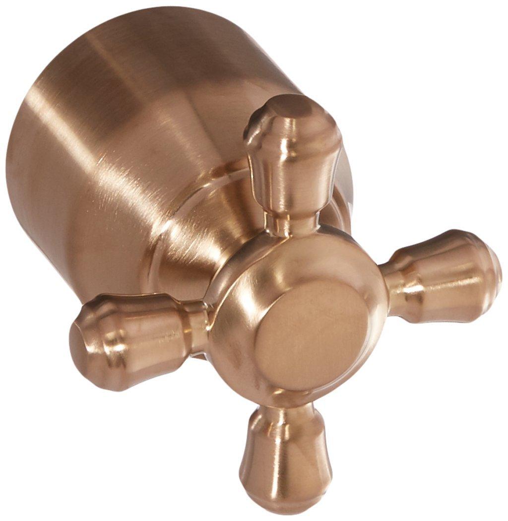 Delta Faucet H595CZ Cassidy Single Cross Bath Diverter/Transfer Valve Handle Kit, Champagne Bronze