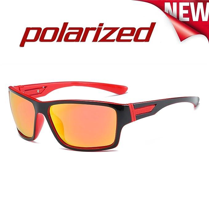 JULI Moda Polarizadas Deportes Gafas de sol Hombre Mujer ...