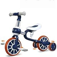 YGJT Triciclo Bebe Bicicleta Niño 1-4 Años Correpasillos de Equilibrio 3 en 1 Triciclos Bebes con Pedales con 4 Ruedas…