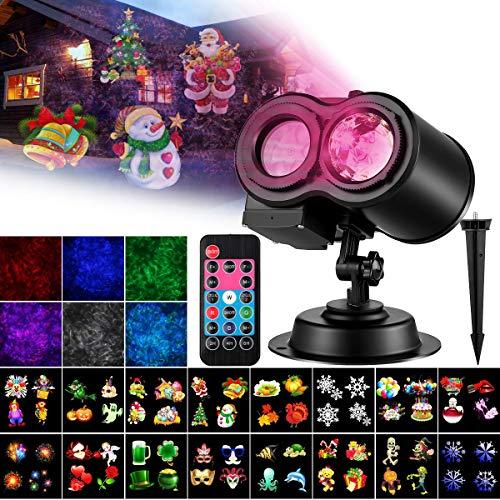 PRYMAX 【2019 Upgrade Holiday Lights Projector,...