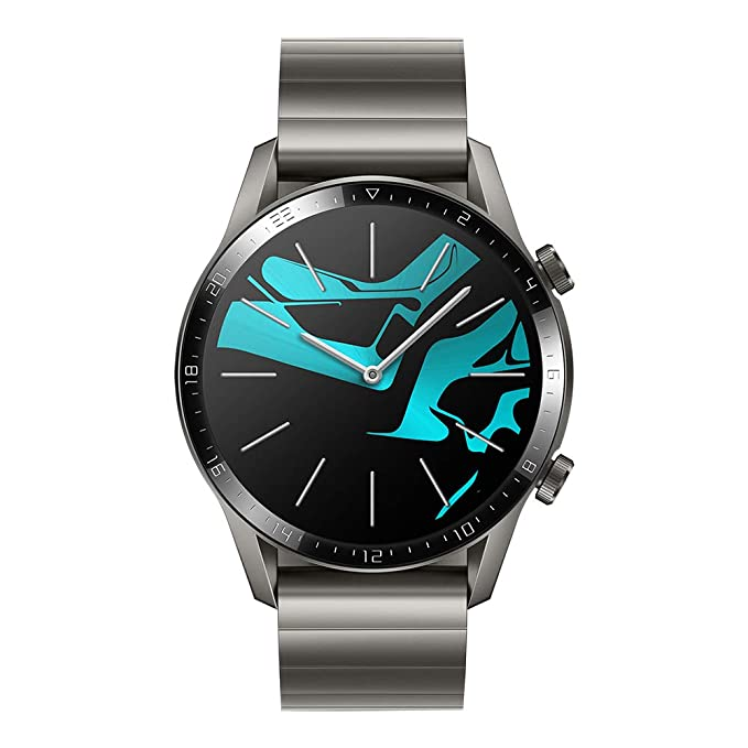 Huawei Watch GT 2 Elegant - Smartwatch con Caja de 46 mm (2 semanas de Uso, Pantalla táctil AMOLED de 1.39