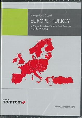 Tarjeta SD Europa + Turquía Ford MFD 2018 - TomTom ...