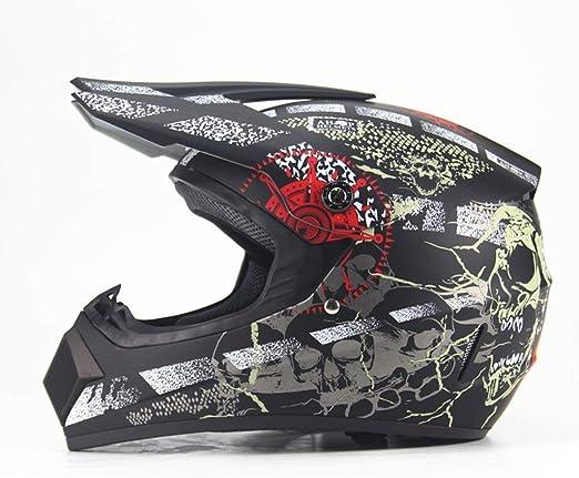 Yunyisujiao Casco de Bicicleta de montaña de Cara Completa DH ...