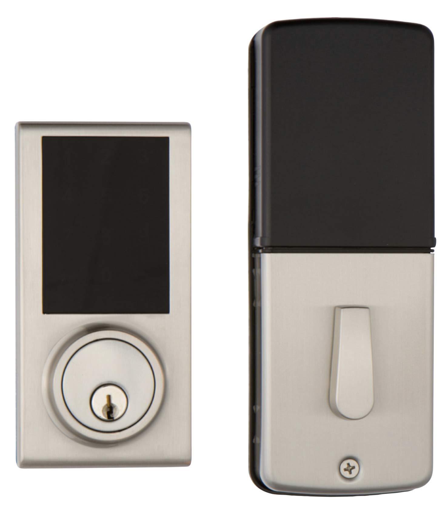 Delaney Hardware 301771, Satin Nickel Z-Wave Smart TOUCHPAD US15 Deadbolt Lock, by Delaney Hardware (Image #2)
