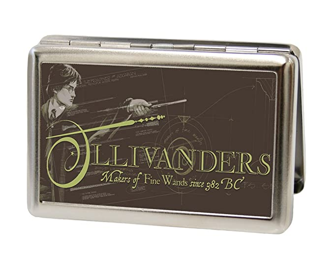 Amazon.com: buckle-down Wallet – Harry Potter ollivanders ...