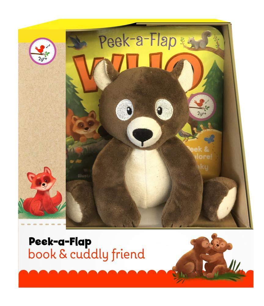 Who Chunky Peek a Flap Board Book