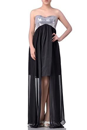 99Gown Formal Dresses For Women Evening High Low Chiffon Prom Homecoming Night Out& Cocktail, Color