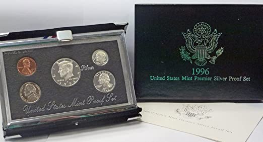 1996 United States Mint Silver Proof Set