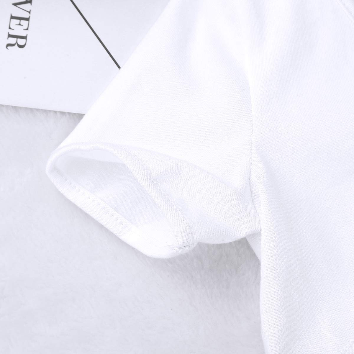 iiniim Girls Kids Short Sleeve Tie Up Front Cropped Bolero Shrug Cardigan Jacket Tops