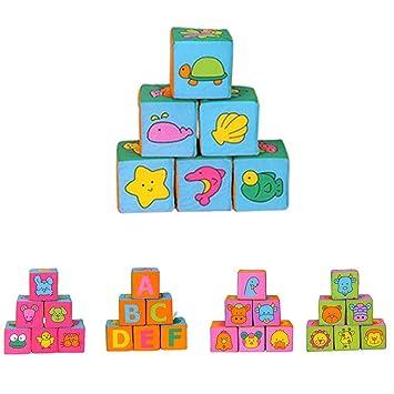 todaytop alphabet blocks letter style puzzle building blocks 9cm cloth soft blocks childrens educational toys brain