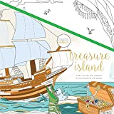 KaiserColour Perfect Bound Coloring Book 9.75''X9.75''-Treasure Island
