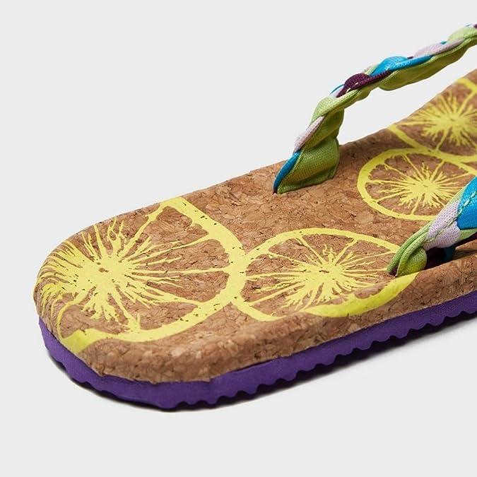 SINNER Frauen Cork Sandal, Buntgefarbene, 41