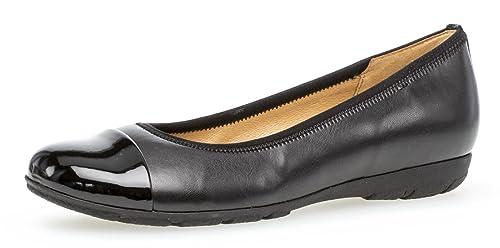 Gabor Ballerines Noires Noir Amazon Fr Chaussures Et Sacs