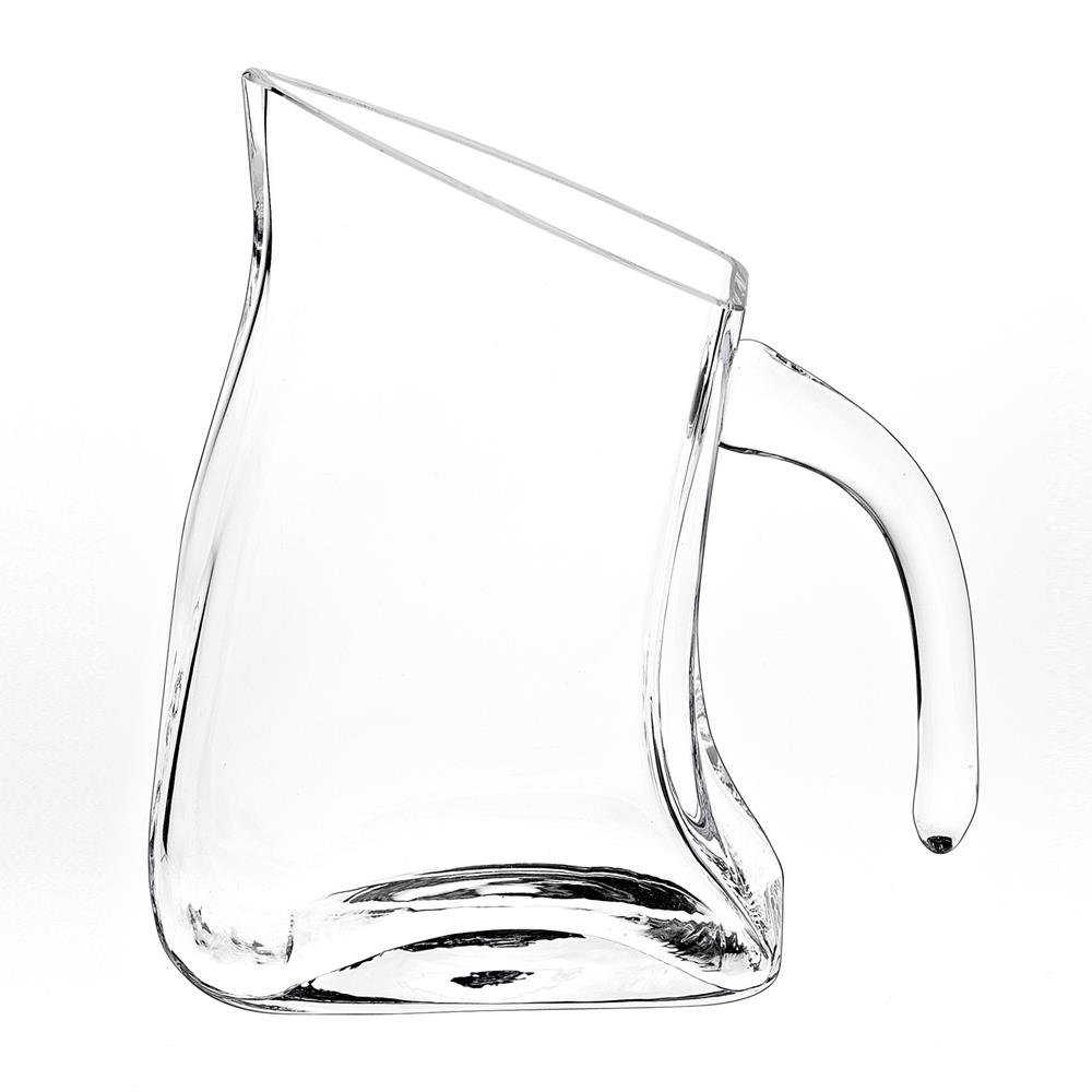 Badash NY258 Celina Unique Flat Design 24 Ounce Crystal Pitcher