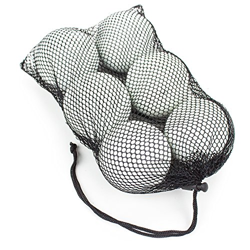 Set of 6 Regulation Size Lacrosse Balls in Mesh Bag - Choose Style! by Brybelly (Image #3)