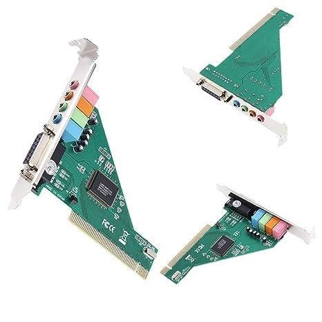 seallambYYtarjeta de Sonido, 4 Canales 4,1 CMI8738 chipset ...