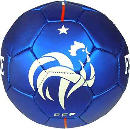 comment acheter modèles à la mode nouveau authentique FFF - Mini Ballon de Foot 'Équipe de France' Officiel - Bleu