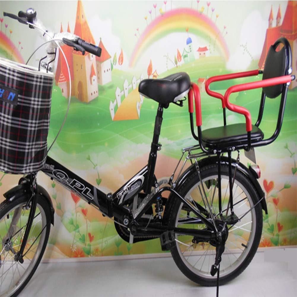 schwarz 22x29cm Joyfitness Fahrrad Kind Rücksitz verbreitert Baby Safe Schule elektrische Fahrrad Kindersitz Fahrrad Rücksitz