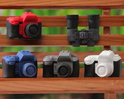 Iwako cámara y prismáticos japoneses Borradores (5 piezas) de ...