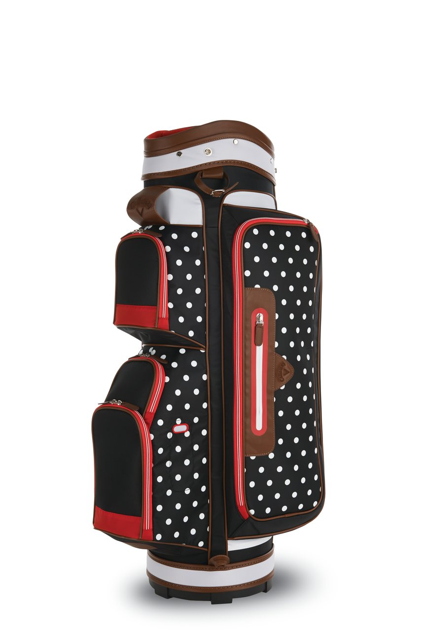 Callaway 2016 Up town Cart Bag, Black/White