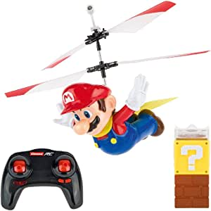 Carrera RC - Flying Super Mario 2.4Ghz Control remoto recargable Helicóptero Drone Toy