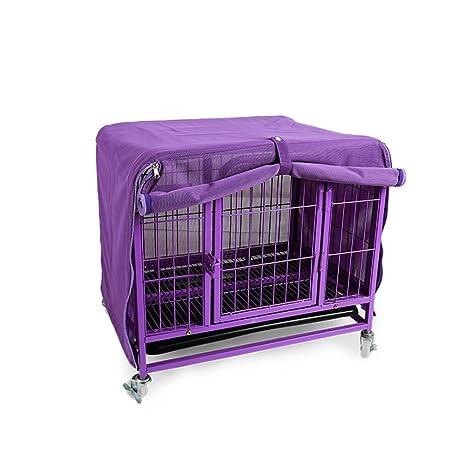Sue Supply Cubierta de malla de poliéster para maletero de mascota, resistente, transpirable,