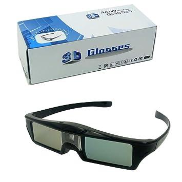 SIENOC Obturador activo DLP Link gafas 3D para la serie de ...