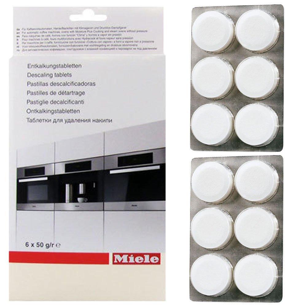 Pastillas descalcificadoras para máquina de café Miele, paquete de 12 pastillas: Amazon.es: Hogar