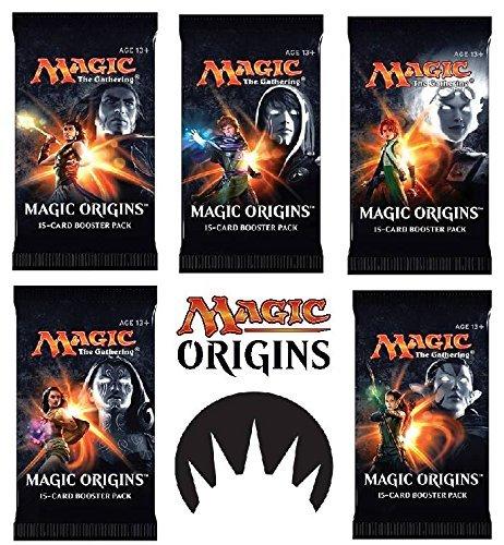 6 (Six) Packs of Magic: the Gathering - MTG: Magic Origins Booster Pack Lot (6 Packs)