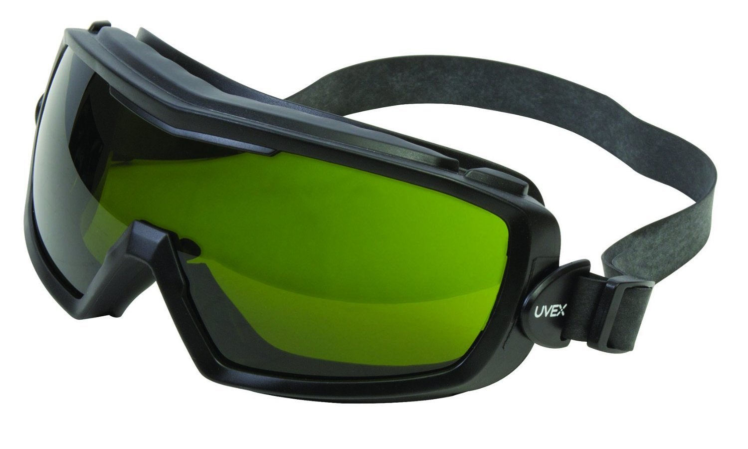 UVEX by Honeywell S3543X Entity Series Goggle with Shade 3.0 Lens, Matte Black Body and Uvextra Anti-Fog Coating