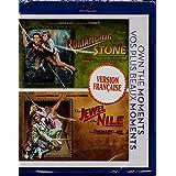 À la Poursuite du Diamant Vert - Romancing the Stone (1984) / Le Diamant du Nil - Jewel of the Nile (1985) 2 Films (English/French) Régie au Québec [Blu-ray] Cover Bilingue