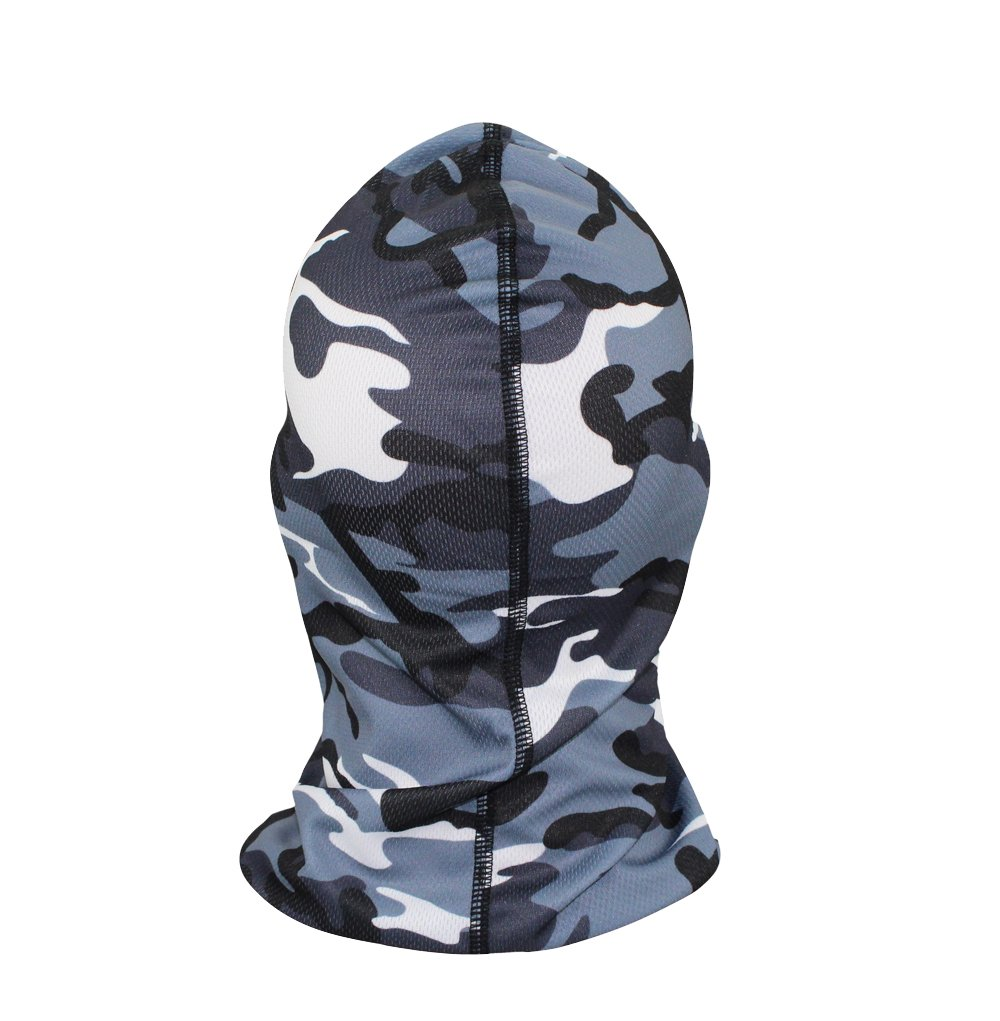 GANWAY Outdoors Camo Ski Mask Cycling Hat Windbreak War Games Airsoft Mask Ventilation CS Headgear Men Motorcycle Balaclava Face Cap