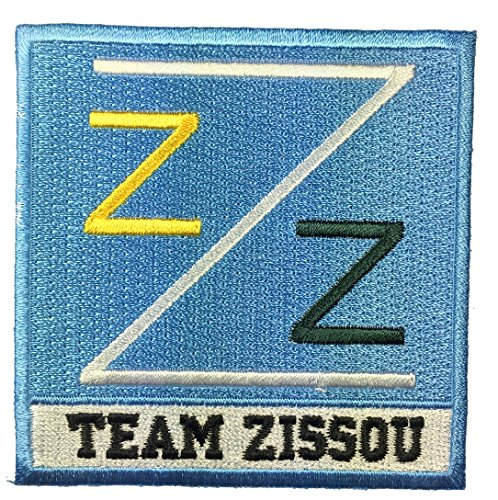 Life Aquatic Zissou Costume (Patch Squad Men's Back Life Aquatic Team Zissou Logo Ballcap Costume Patch (Blue))