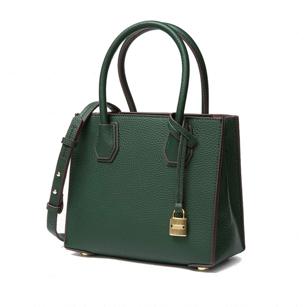 YANFEI PU Handtasche Mode Schultertasche Einfache Messenger Damen Tasche Trend Handtasche (Farbe   Schwarz) B07Q2QJ3HP Umhngetaschen
