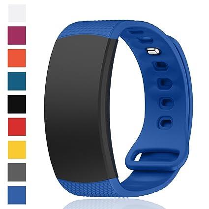Cyeeson Samsung Gear Fit 2 SM-R360 Banda de Reloj de Repuesto Correa reloj Silicona