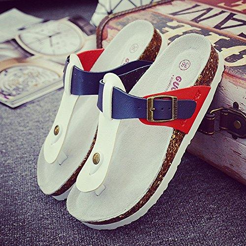 Taglia Sughero Colore B Pantofole Grande D E Clip nbsp; Donna 35 ZHANGRONG dimensioni nbsp; nbsp; Toes Uomo aYwzqa7